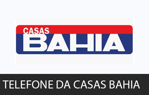 telefone da Casas Bahia