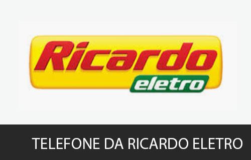 telefone da Ricardo Eletro