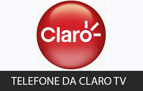 telefone da Claro TV