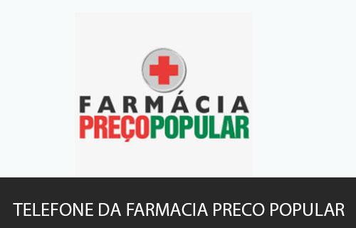 telefone da Farmácia Preço Popular