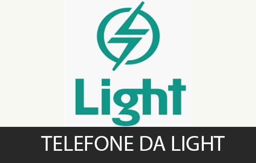 telefone da Light
