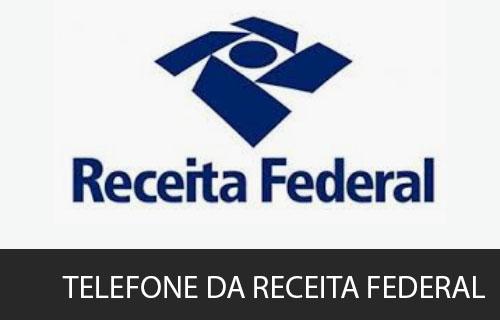 telefone da Receita Federal