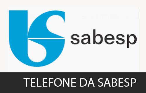 telefone da Sabesp