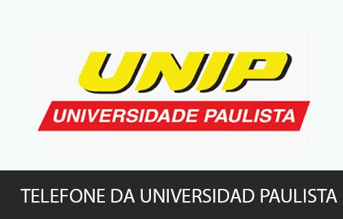 telefone da Universidade Paulista - UNIP